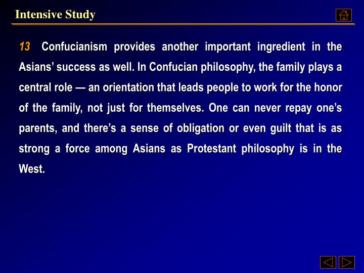 Intensive Study