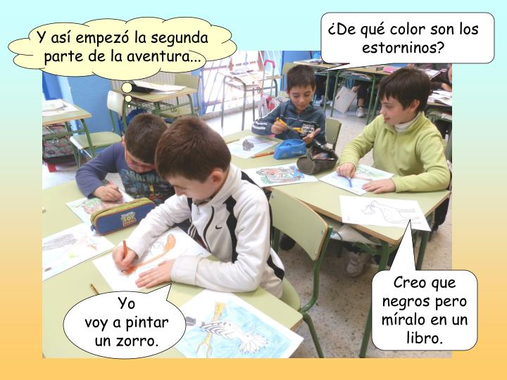 ¿De qué color son los estorninos?