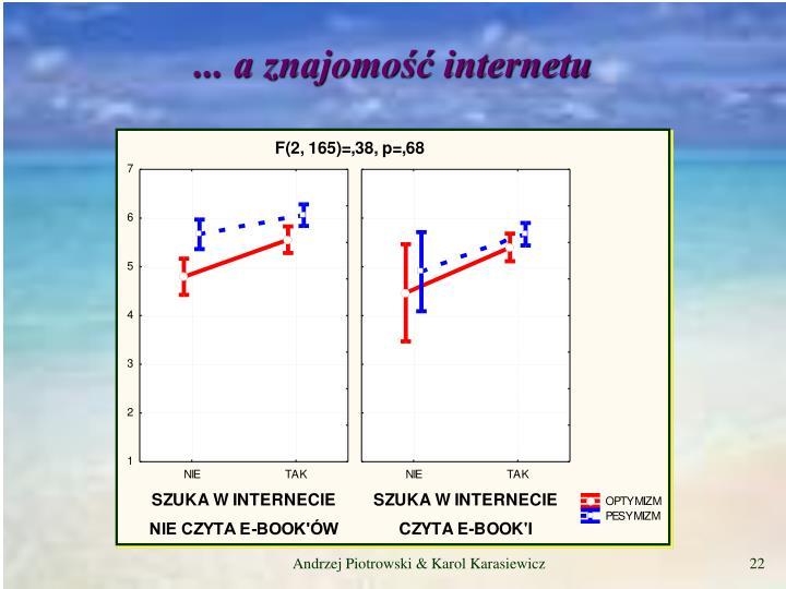 ... a znajomość internetu