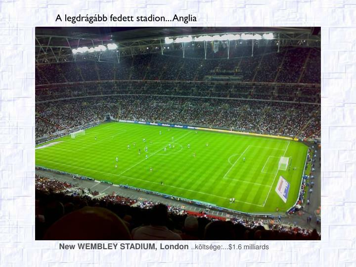 New WEMBLEY STADIUM, Lon