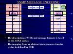 snmp message encoding