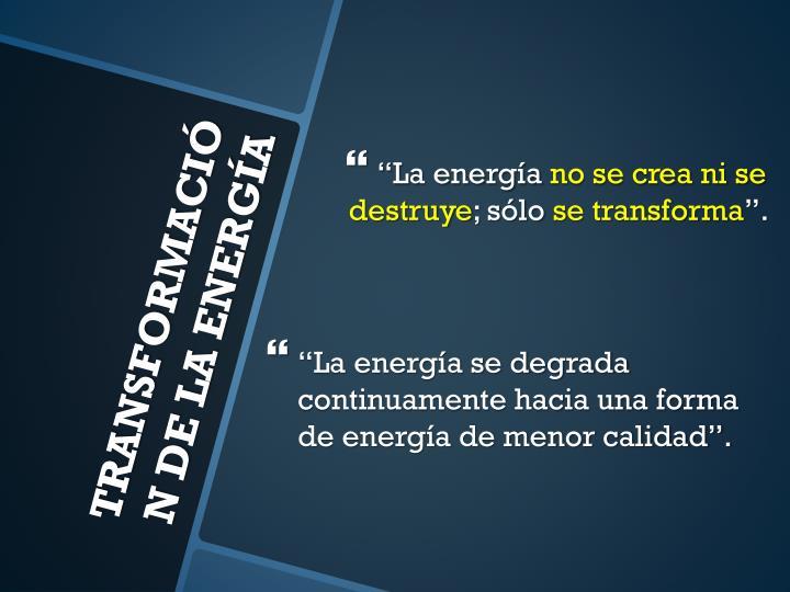 """""""La energía"""