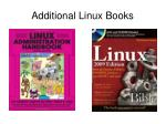 additional linux books