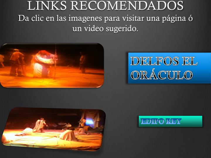 LINKS RECOMENDADOS