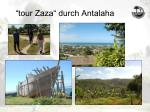 tour zaza durch antalaha