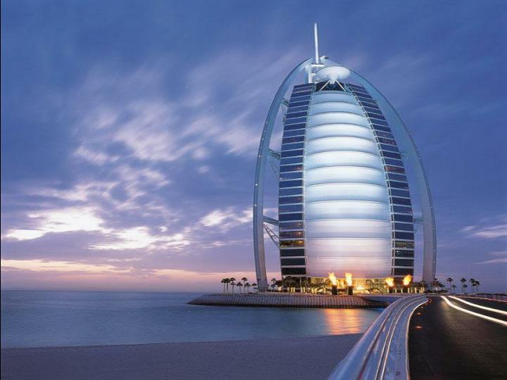 The only 7 star hotel in the world this hotel in dubai arab emirates
