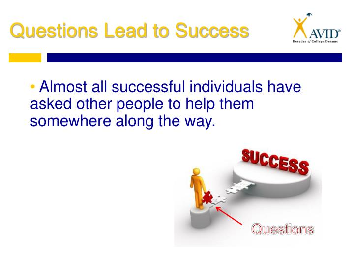 Almost all successful individuals have asked other people to help them somewhere along the way.