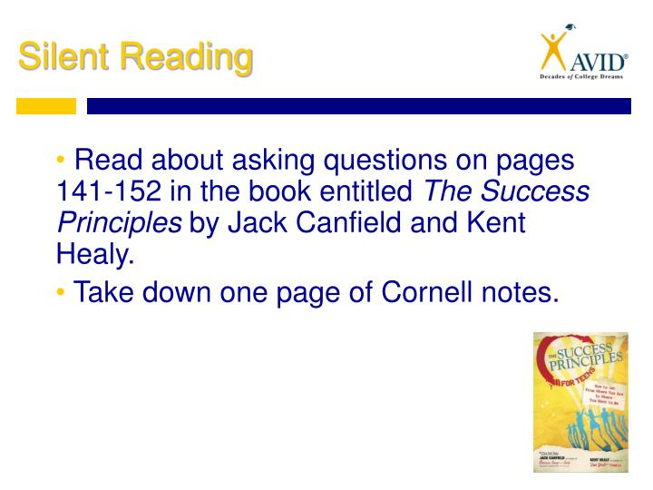 Read about asking questions on pages 141-152 in the book entitled