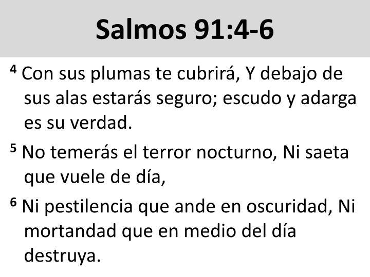 Salmos 91:4-6