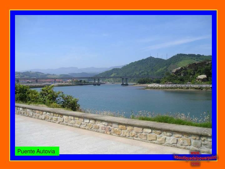Puente Autovia