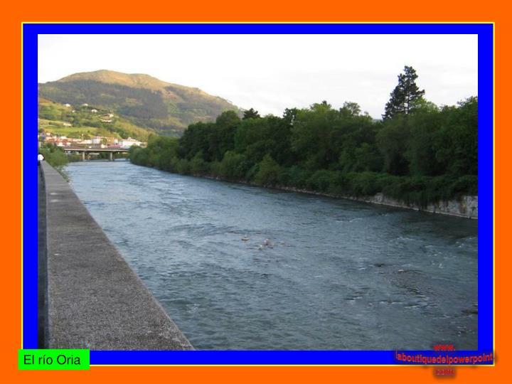 El río Oria