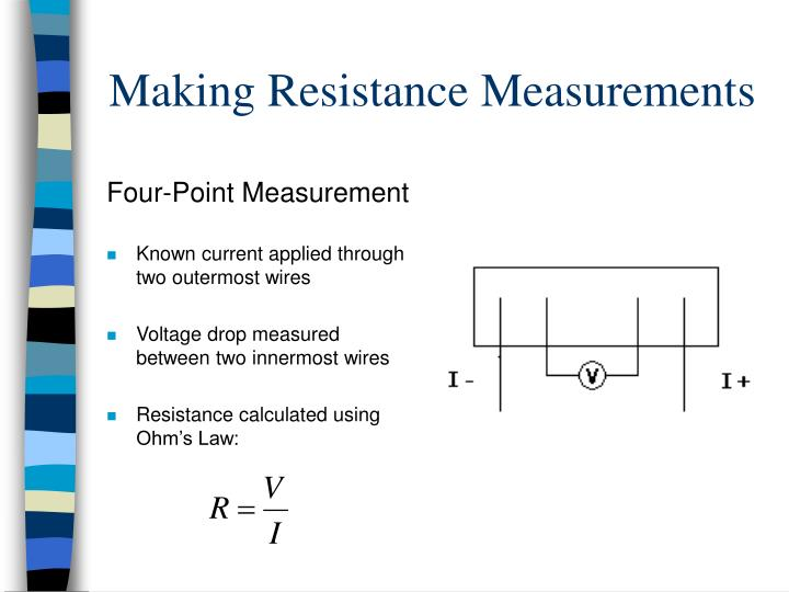 Four-Point Measurement
