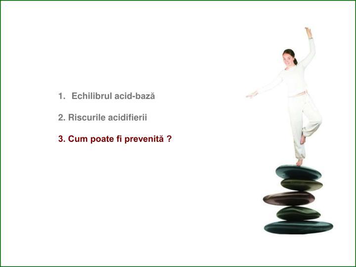 Echilibrul acid-bază