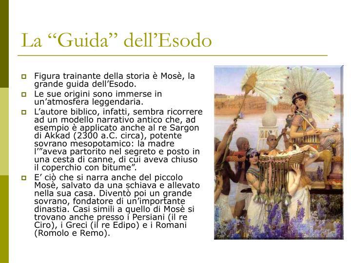 "La ""Guida"" dell'Esodo"