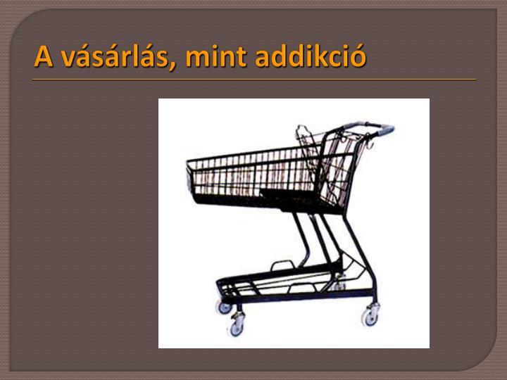A vásárlás, mint