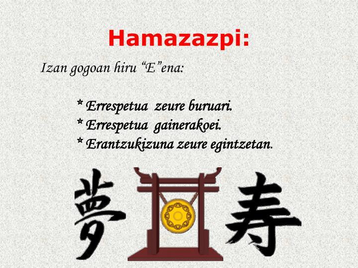 Hamazazpi: