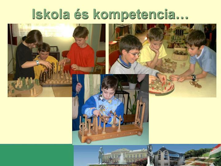 Iskola és kompetencia…