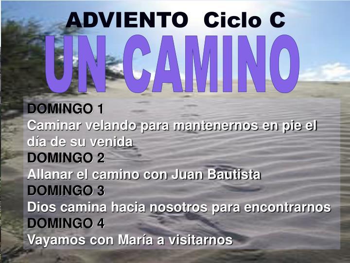ADVIENTO  Ciclo C