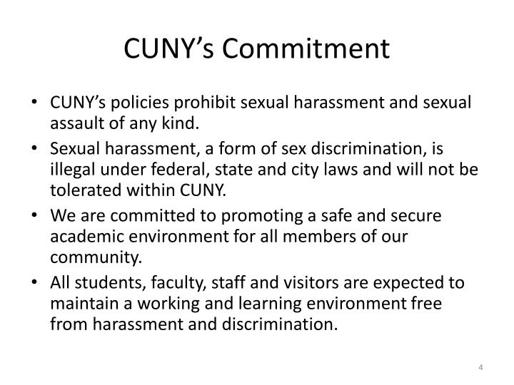 CUNY's Commitment