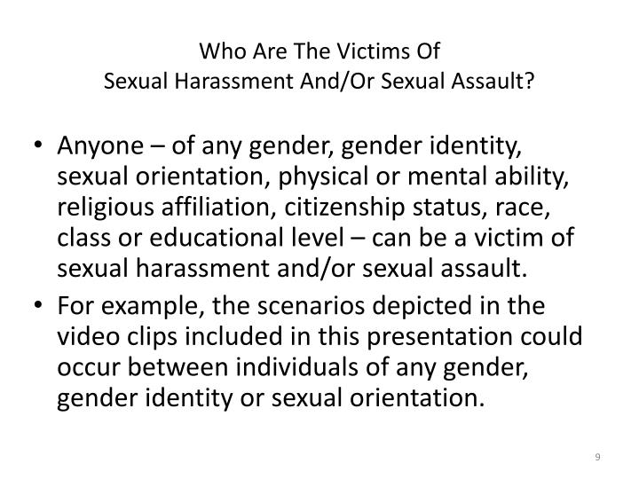Who Are The Victims Of