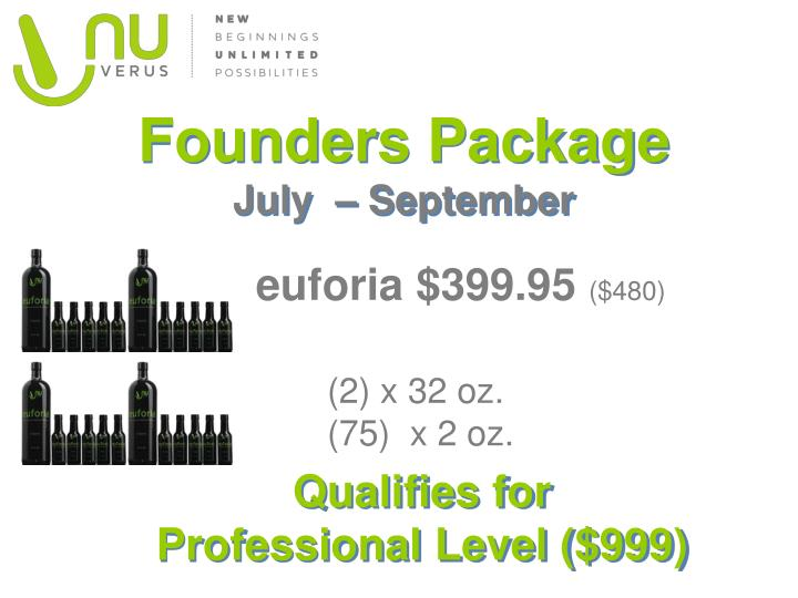 Founders Package