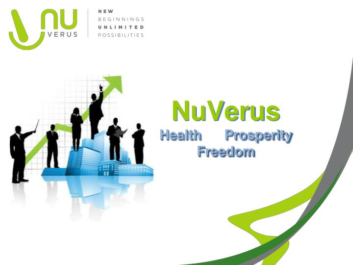 Nuverus health prosperity freedom
