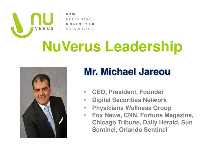 NuVerus Leadership