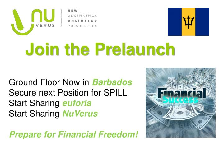 Join the Prelaunc