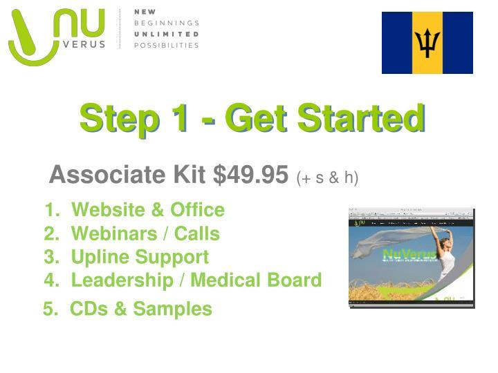 Step 1 - Get Started