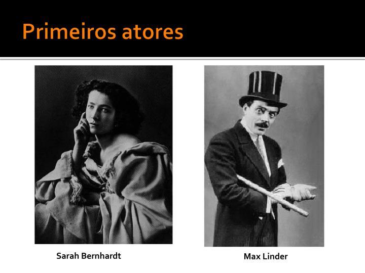 Primeiros atores