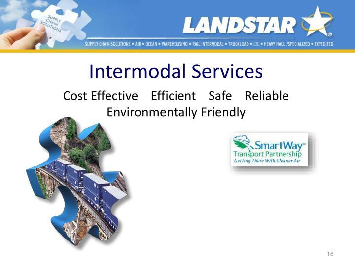 Intermodal Services