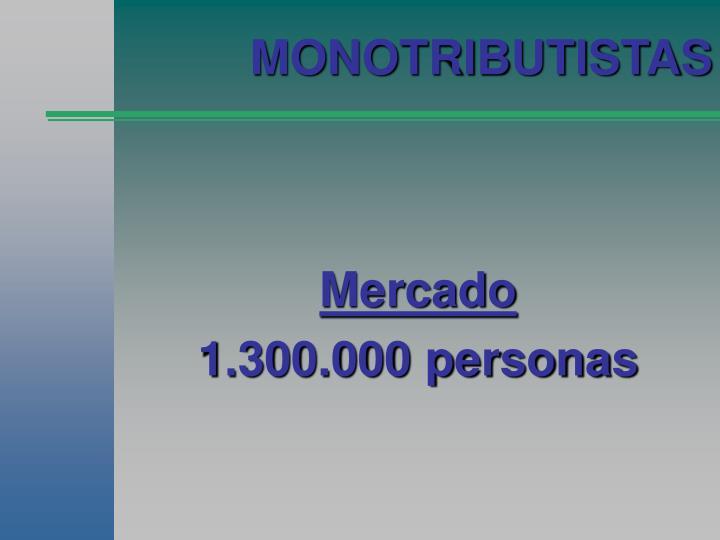 MONOTRIBUTISTAS