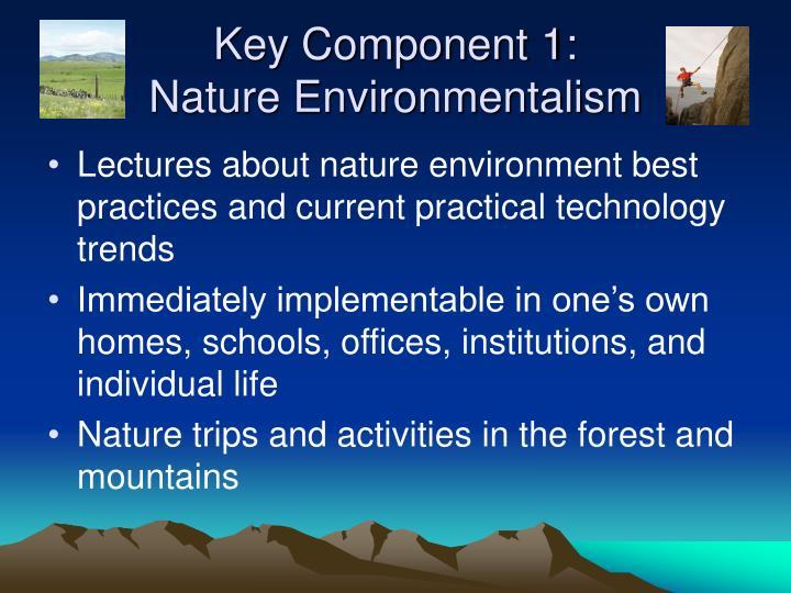 Key Component 1: