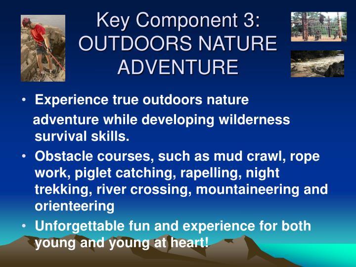 Key Component 3: