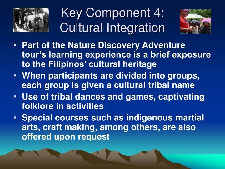 Key Component 4: