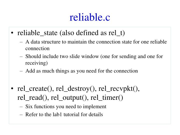 reliable.c