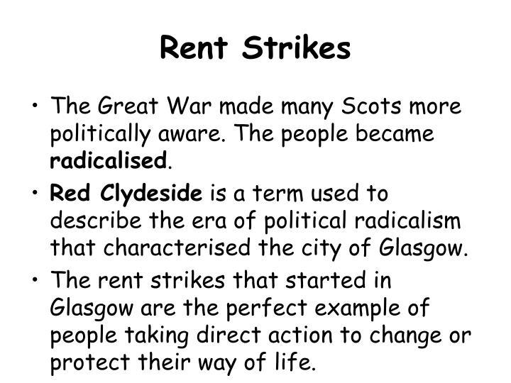 Rent Strikes