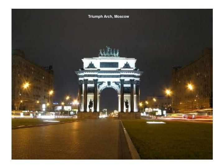 Triumph Arch, Moscow