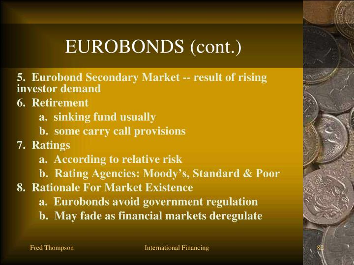 EUROBONDS (cont.)