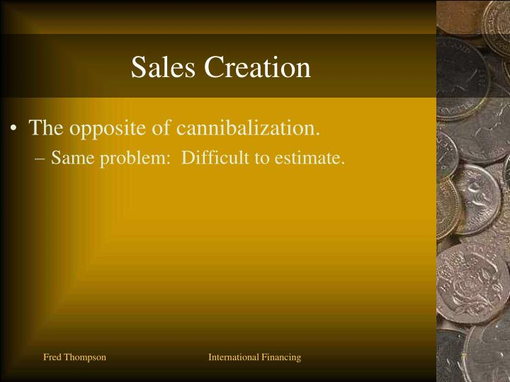 Sales Creation