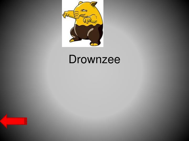 Drownzee