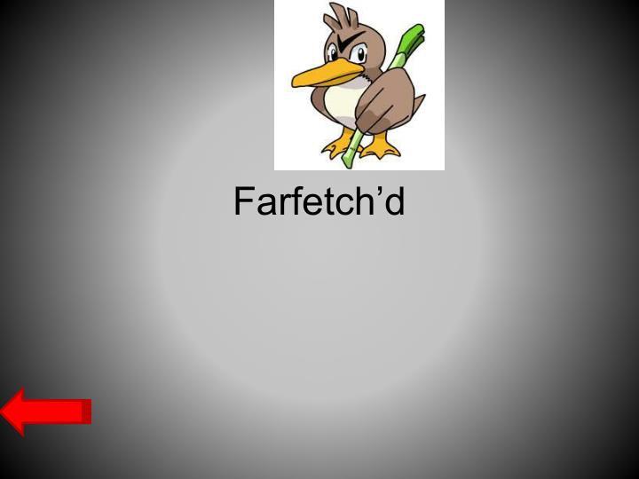 Farfetch'd