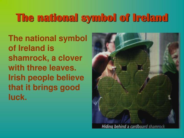 The national symbol of Ireland