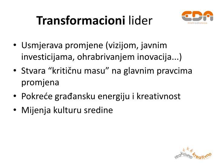 Transformacioni