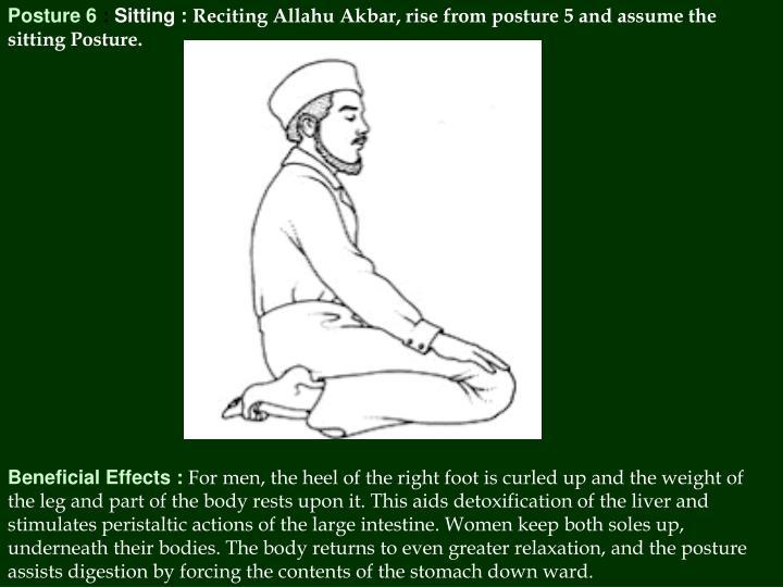 Posture 6