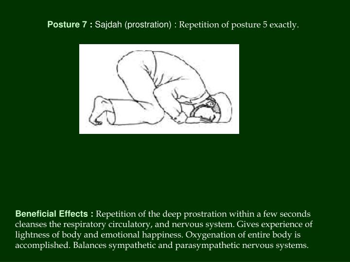 Posture 7