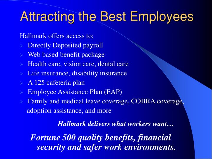 Attracting the Best Employees