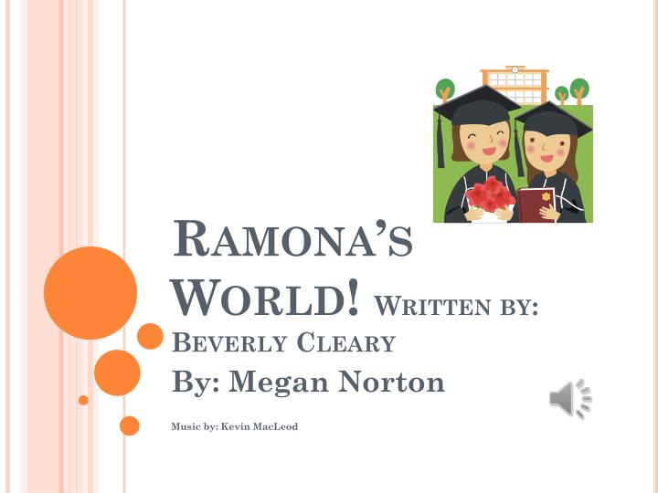 Ramona s world written by beverly cleary