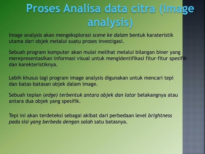 Proses Analisa