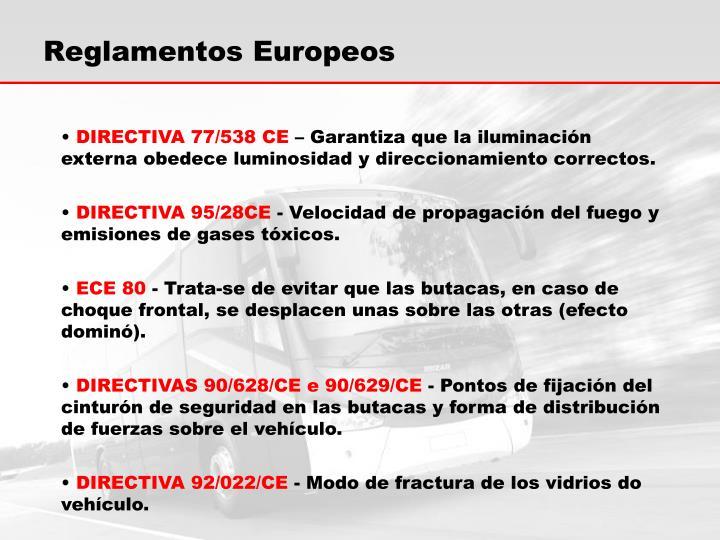 Reglamentos Europeos